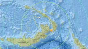 PNG Map Earthquake